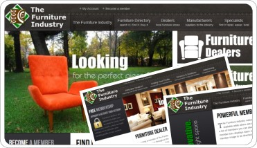 web design- the furniture industry project